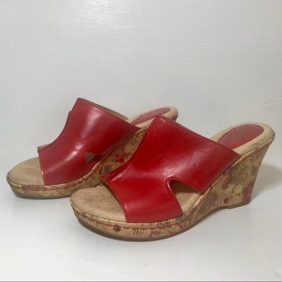 76564fe12d95 b.o.c. Shoes - B.O.C. By Born - Dianna Leather Wedge